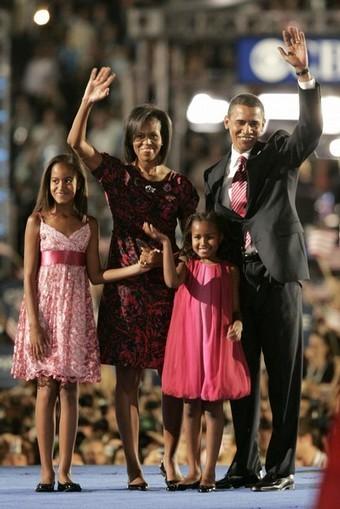 barack obama family. Barack Obama#39;s Acceptance